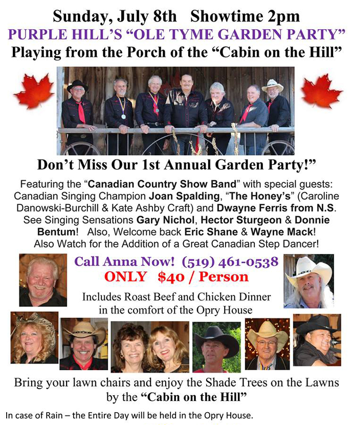 Purple Hill country hall, country music london ontario, country music dance bars london ontario, Shelly Rastin, the canadian country cruisers, diane chase, thomas wade, george fox, grand ole opry, opry land, country music hall london ontario, Purple Hill Country Hall, Donnie bentum, don bentum, hector sturgeon, joan spalding, bruce hare, eric shain, jim gonder, john p allen, al widmeyer, brian storey, wayne mack, caroline burchill, country roads dance band,family brown band, steve piticco and south mountain, linsey beckett, jay riehel, kurk bernard, guy nichol, nora galloway, michael warren, pam miller, patrick  linton, brian moon, the boys of purple hill  country music events in ontario, randy satchell, ryan cook, joan spalding, bluegrass music london ontario, bluegrass ontario society, bluegrass reunion, New Cumberland, rhyme and reason, the nelson family, donnie bentum, paul weber from maryhill, hank williams live, ccma awards, barn dances ontario, purple hill country hall barn dance, purple hill country hall bluegrass festival, pow wows in ontario