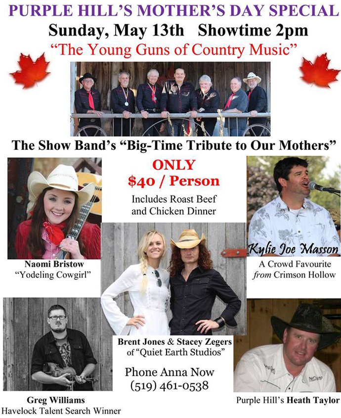 country music london ontario purple hill country hall